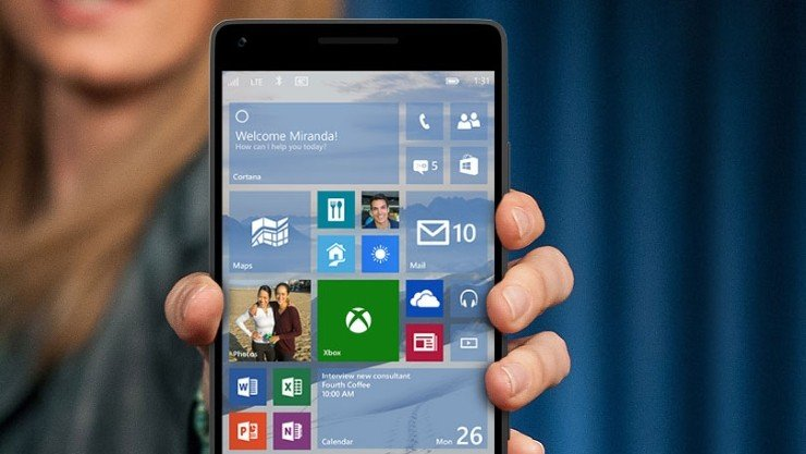 email hotmail Windows 10 for phones desenvolvimento de aplicativos