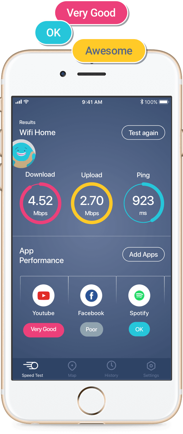 velociadde do wifi app meteor