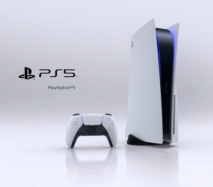ps5 design oficial do console